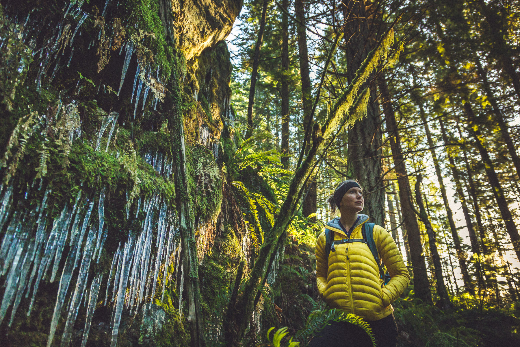 Pacific Northwest Outdoor Portraits in the Rainforest