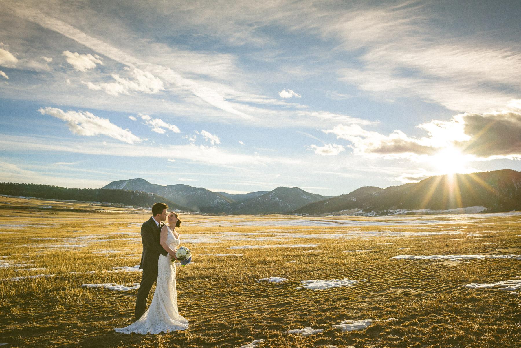 Spruce Mountain Ranch Wedding Bridal Portraits