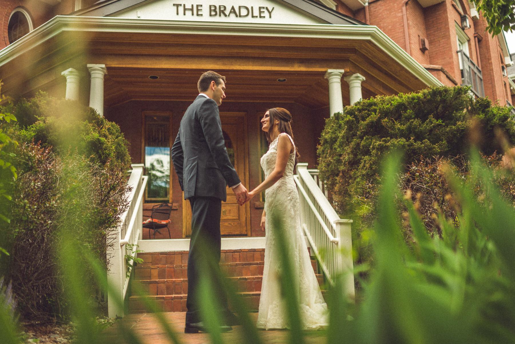 Bradley Boulder Inn Wedding Portraits