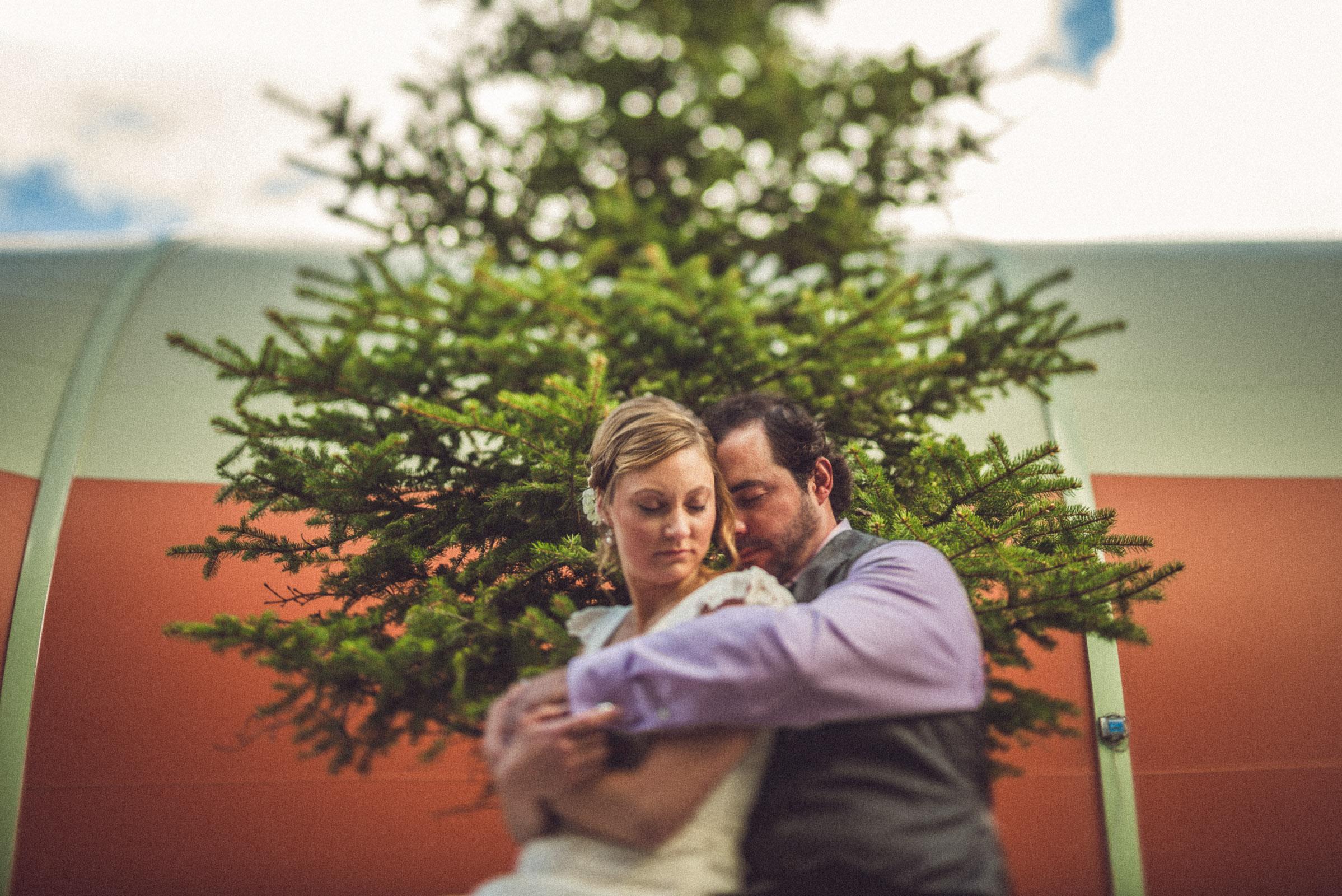 Outdoor wedding in Keystone
