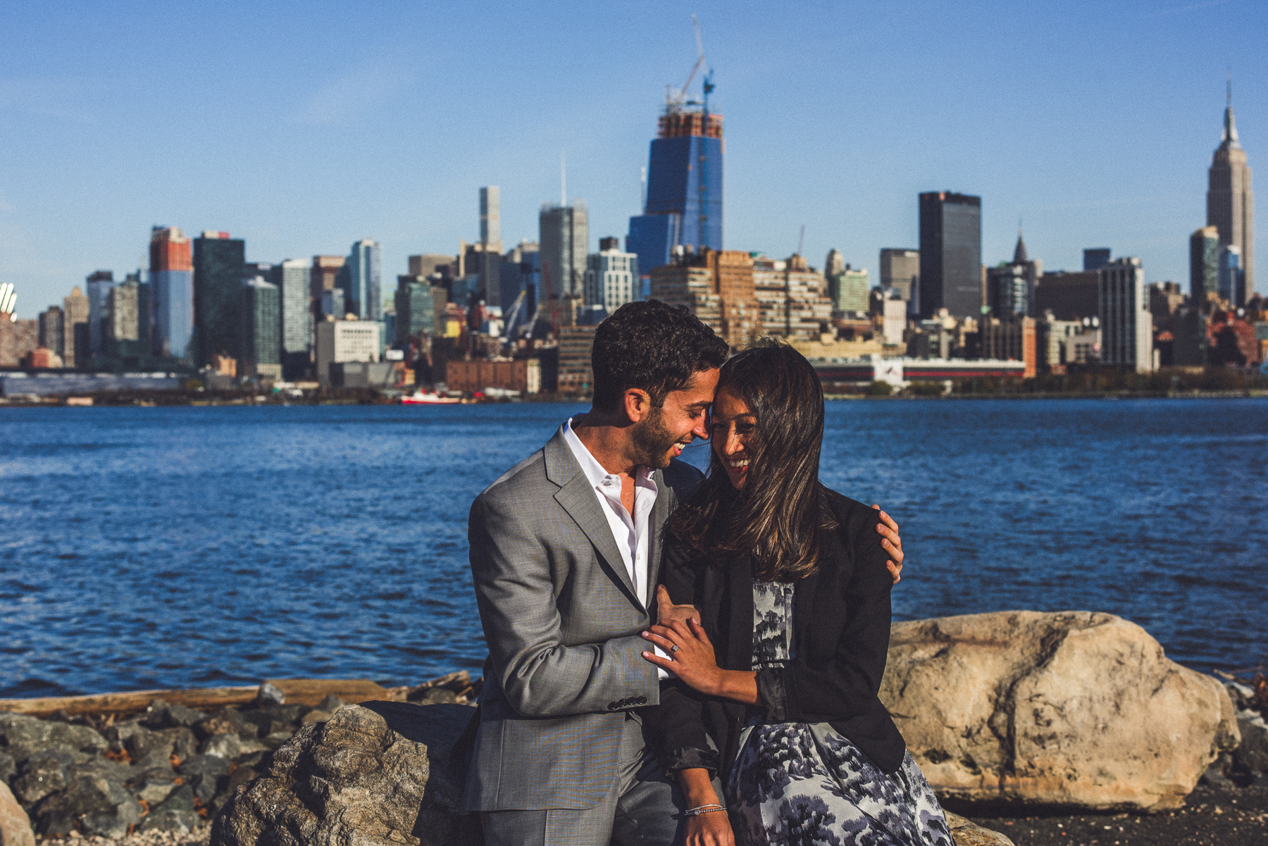 engagement session in New York